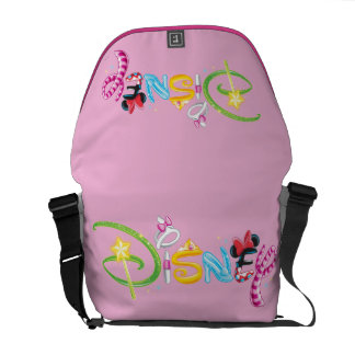 Disney Logo | Girl Characters Courier Bag