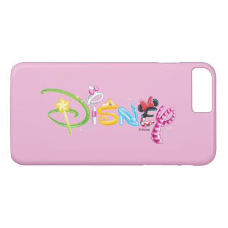Disney Logo | Girl Characters iPhone 8 Plus/7 Plus Case