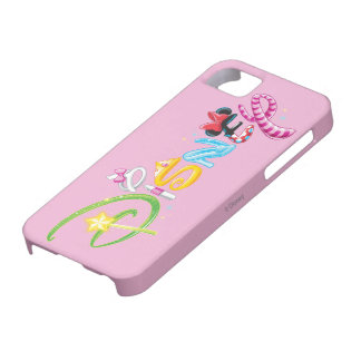 Disney Logo | Girl Characters iPhone SE/5/5s Case