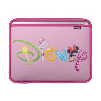 Disney Logo | Girl Characters MacBook Sleeve