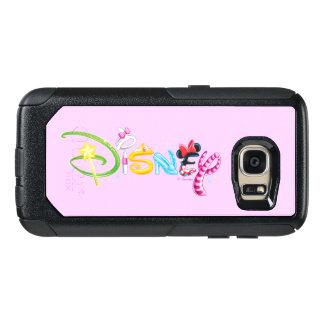 Disney Logo   Girl Characters OtterBox Samsung Galaxy S7 Case