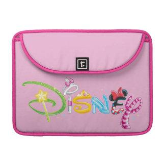 Disney Logo | Girl Characters Sleeve For MacBooks