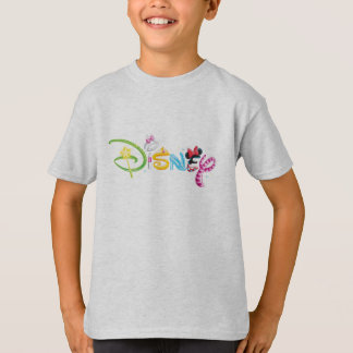 Disney Logo | Girl Characters T-Shirt