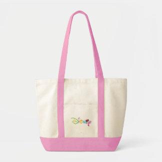 Disney Logo | Girl Characters Tote Bag