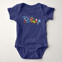 Disney Logo | Mickey and Friends Baby Bodysuit