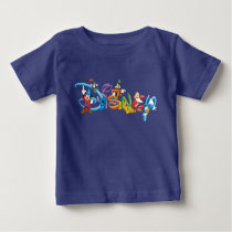 Disney Logo | Mickey and Friends Baby T-Shirt