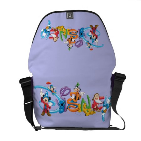 Disney Logo | Mickey And Friends Courier Bag