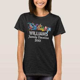 Disney Logo | Mickey and Friends - Family Vacation T-Shirt