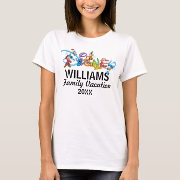 Professional Business Disney Logo | Mickey and Friends - Family Vacation T-Shirt