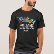 Disney Logo | Mickey and Friends - Family Vacation T-Shirt