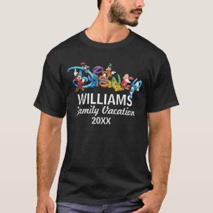 6c83f0526fc03 Disney Logo | Mickey and Friends - Family Vacation T-Shirt