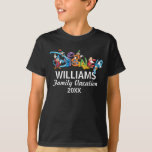 """Disney Logo   Mickey and Friends - Family Vacation T-Shirt<br><div class=""""desc"""">Going on a Disney family vacation? Customize these Disney shirts for the whole family by adding your family name or custom text.</div>"""