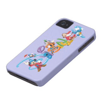 Disney Logo   Mickey and Friends iPhone 4 Case
