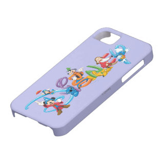 Disney Logo   Mickey and Friends iPhone SE/5/5s Case