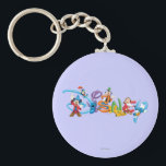 "Disney Logo | Mickey and Friends Keychain<br><div class=""desc"">Multiple Characters</div>"