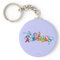 Disney Logo | Mickey and Friends Keychain