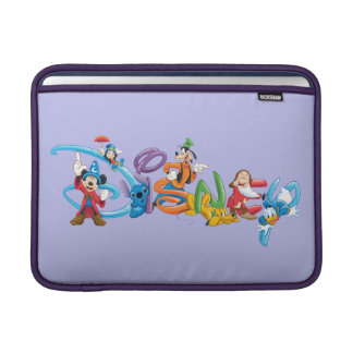 Disney Logo   Mickey and Friends MacBook Sleeve