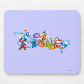 Disney Logo | Mickey and Friends Mouse Pad