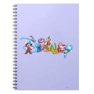 Disney Logo | Mickey and Friends Notebook