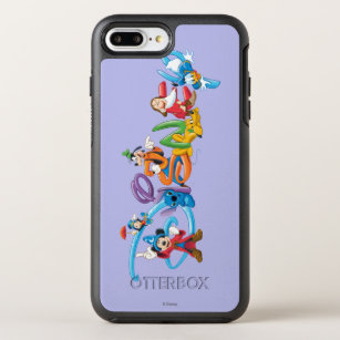 free shipping aeba5 c0bd2 Disney Logo | Mickey and Friends OtterBox Symmetry iPhone 8 Plus/7 Plus Case
