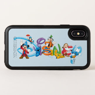 Disney Logo | Mickey and Friends OtterBox Symmetry iPhone X Case
