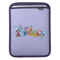Disney Logo   Mickey and Friends Sleeve For iPads