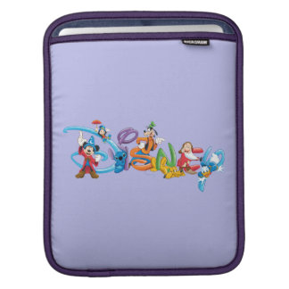 Disney Logo | Mickey and Friends Sleeve For iPads