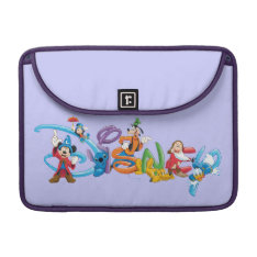 Disney Logo | Mickey and Friends Sleeve For MacBook Pro at Zazzle