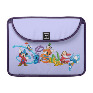 Disney Logo | Mickey and Friends Sleeves For MacBooks
