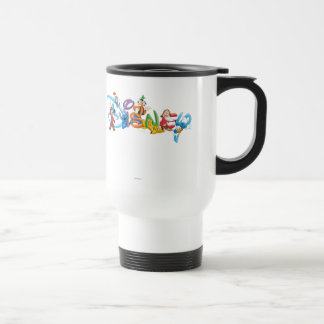 Disney Logo | Mickey and Friends Travel Mug