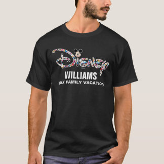 Disney Logo | Mickey & Friends - Family Vacation T-Shirt