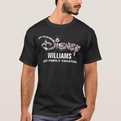 Disney Logo  Mickey  Friends _ Family Vacation T_Shirt