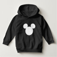 Disney Logo | White Mickey Icon Hoodie