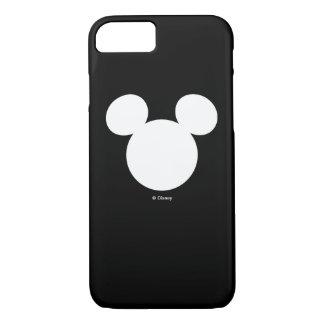 Disney Logo | White Mickey Icon iPhone 7 Case