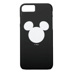Disney Logo | White Mickey Icon iPhone 8/7 Case