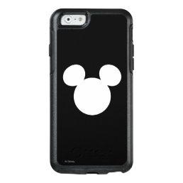 Disney Logo   White Mickey Icon OtterBox iPhone 6/6s Case