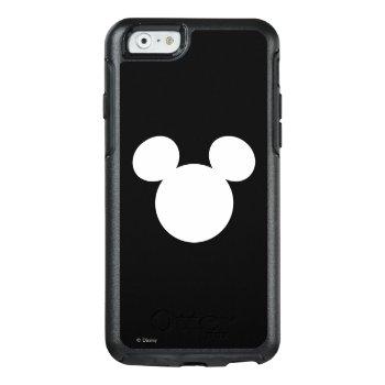 Disney Logo | White Mickey Icon Otterbox Iphone 6/6s Case by disney at Zazzle