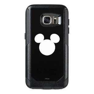 meet c0db0 1af26 Disney Logo | White Mickey Icon OtterBox Samsung Galaxy S7 Case