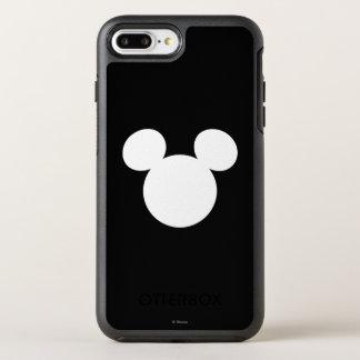 Disney Logo | White Mickey Icon OtterBox Symmetry iPhone 7 Plus Case