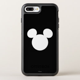 Disney Logo | White Mickey Icon OtterBox Symmetry iPhone 8 Plus/7 Plus Case