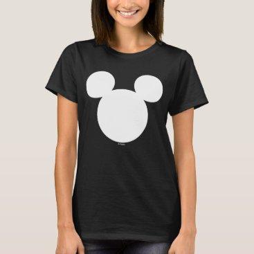 disney Disney Logo | White Mickey Icon T-Shirt