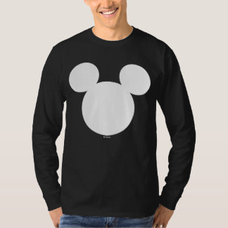 Disney Logo | White Mickey Icon T-Shirt