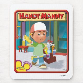 Disney Manny práctico y herramientas Tapete De Raton