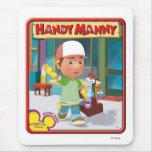 Disney Manny práctico y herramientas Alfombrillas De Ratones
