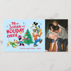 Holiday Card with Pluto design