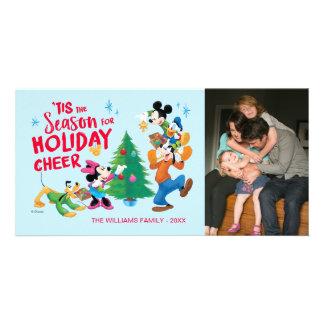 Disney | Mickey & Friends - Holiday Cheer Photo Card