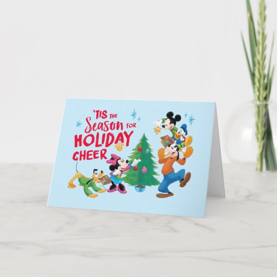 Disney mickey friends holiday cheer quote zazzle disney mickey friends holiday cheer quote m4hsunfo