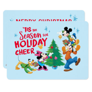 Disney | Mickey & Friends - Holiday Cheer Quote Card