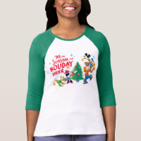 Disney | Mickey & Friends - Holiday Cheer Quote T-Shirt
