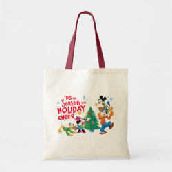 Disney | Mickey & Friends - Holiday Cheer Quote Tote Bag